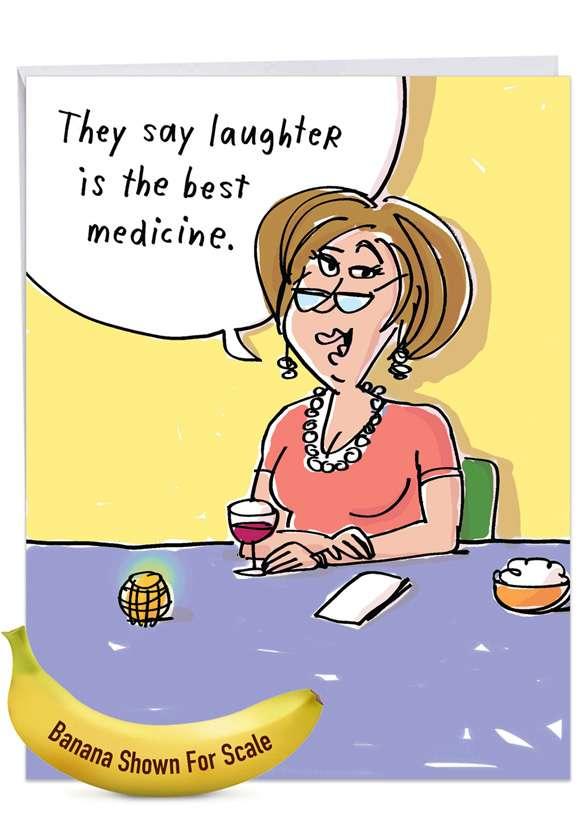 Best Medicine Jumbo Card