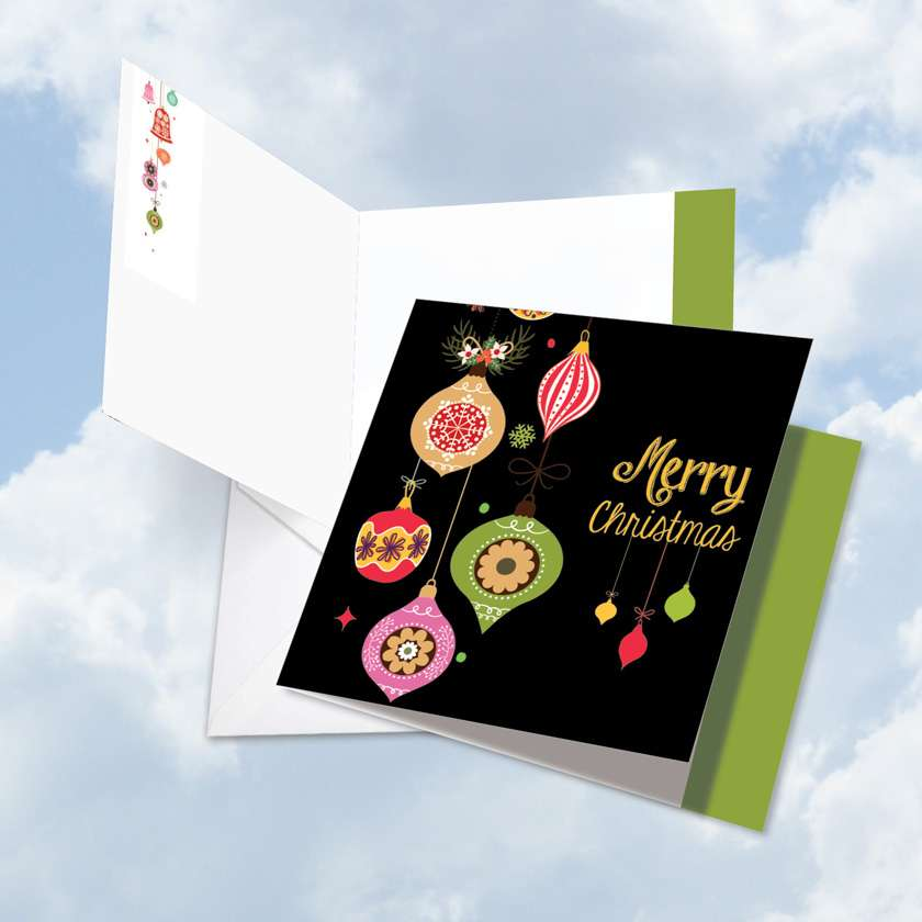 Retro Groovy Greetings Card